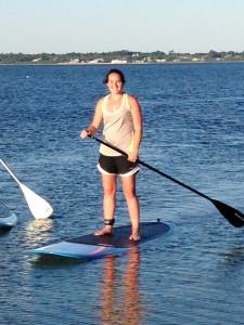 Vicky Paddleboarding