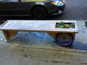 Random planter/bench