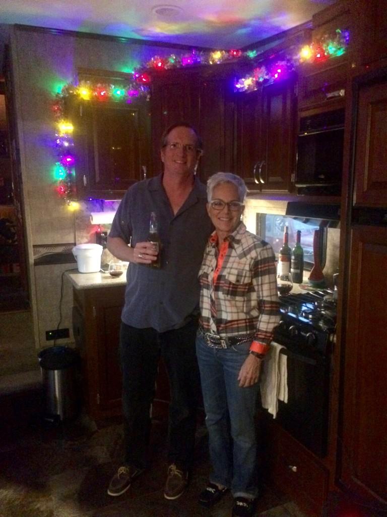 Jeff and Chris' wife, Lynn
