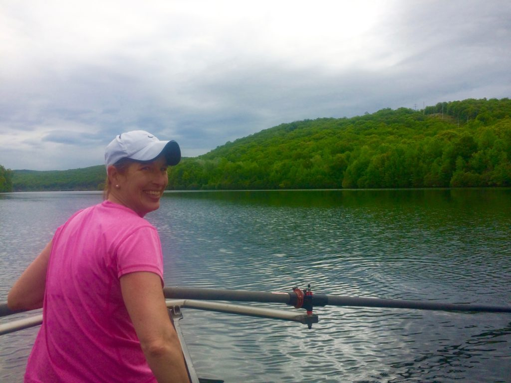 Rowing the double with Roberta