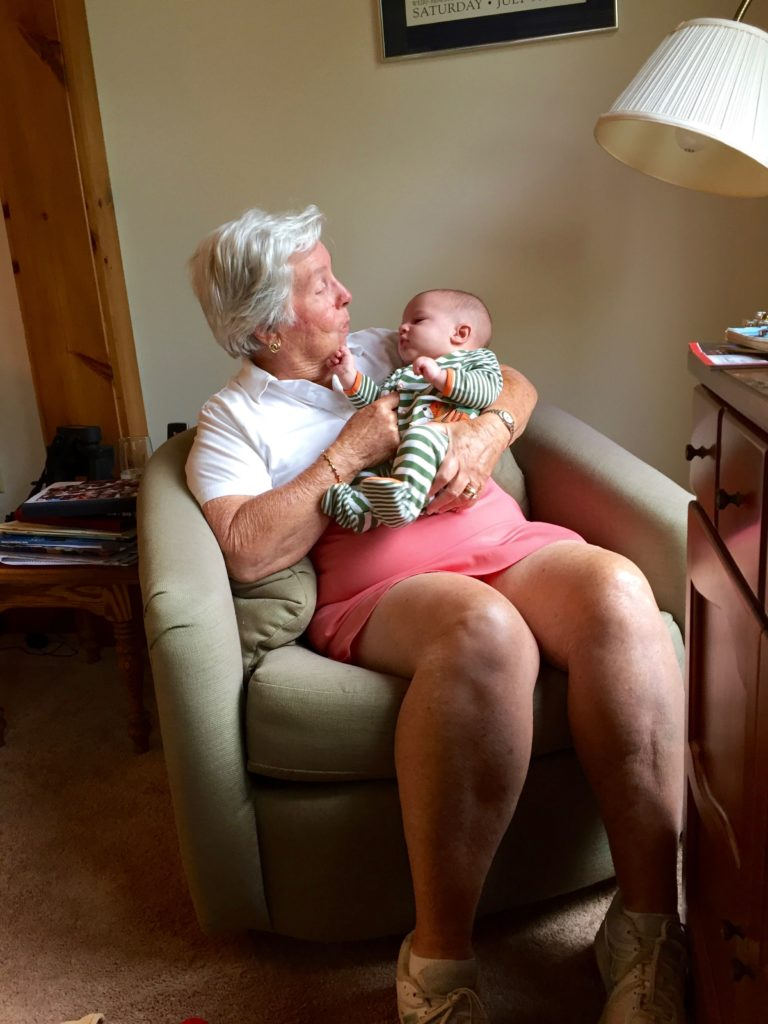 Great Grandma Aline and Abel